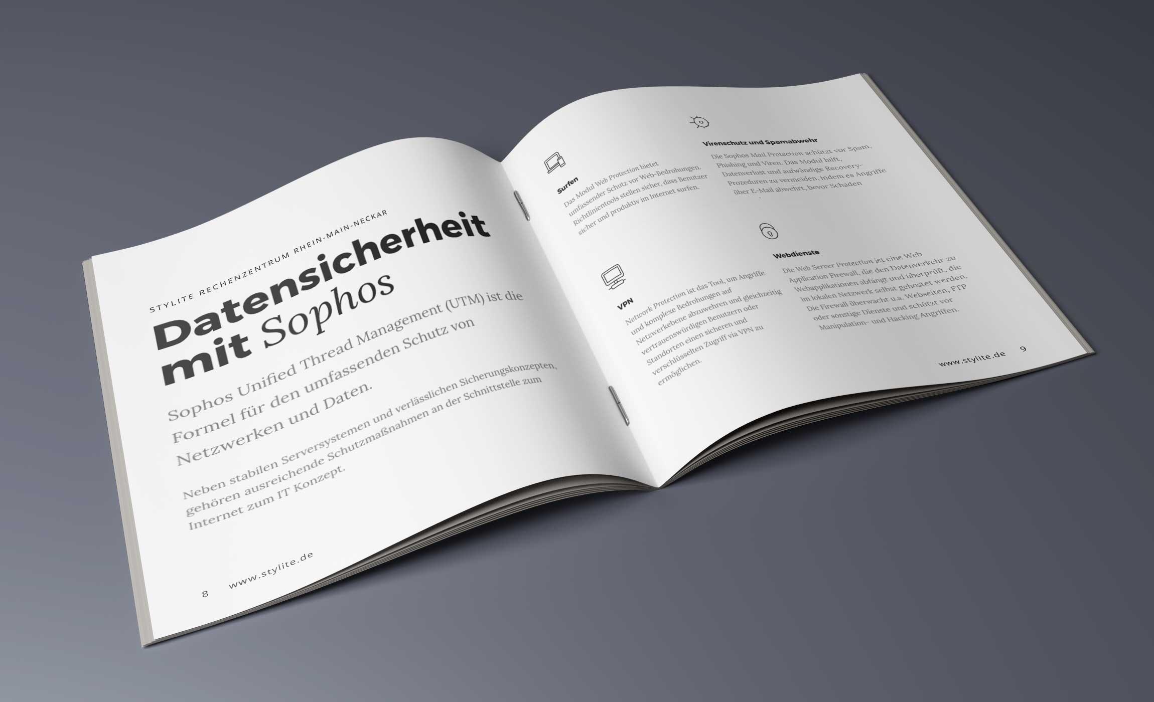 Sophos VPN Stylite Rechenzentrum Mainz