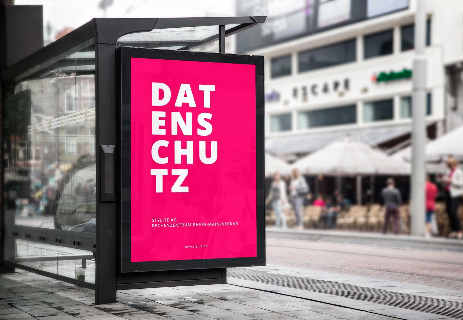 Stylite AG Rechenzentrum Mainz poster Datenschutz, Externer Datenschutzbeauftragter