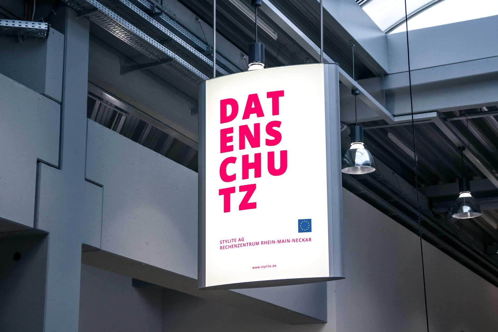Stylite AG Rechenzentrum Mainz poster Datenschutz EU