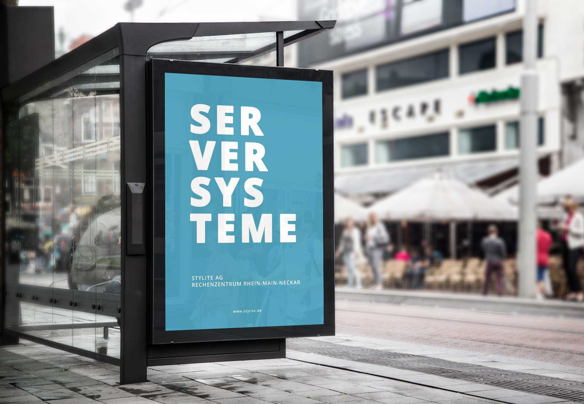 Stylite Rechenzentrum poster Cloud Lösungen für Unternehmen